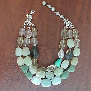 Stella Dot Artemus stone necklace RETIRED!